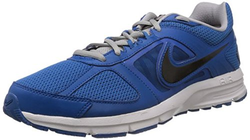 Nike Men's Air Relentless 3 Msl Military Blue and Black Mesh Running Shoes - 11 UK  available at amazon for Rs.3995