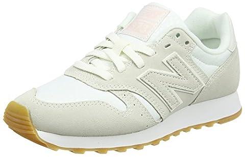 New Balance 373, Baskets Femme, Blanc (Cream), 40 EU