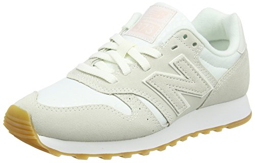 New Balance Damen Sneaker, Weiß (Cream), 38 EU (5.5 UK) (Balance Damen)