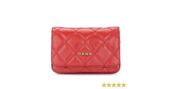 DKNY Borsa a tracolla Sofia in pelle rossa trapuntata