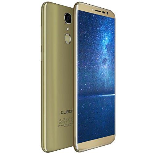Cubot X18 Smartphone Libre 4G   Android 7 0 IPS Pantalla de 5 7 Pulgadas 18 9 C  mara Trasera de 13MP   32GB de ROM   3GB de RAM  MTK6737T Quad Core 1