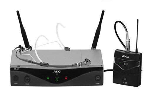 Wms Akg-sport-420 microfono wireless wms420 banda u2-sport