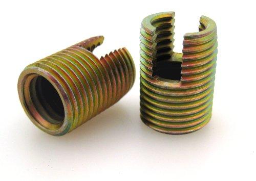 BaerFix® Gewindereparatur-Einsätze, Gewindeeinsätze, M 2 x 0,4 x 6 mm, 10 Stück