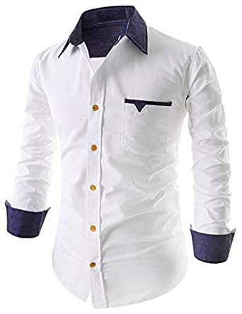 IndoPrimo Men's Regular Fit Casual Shirt