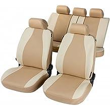 RMG r31a Asientos COMPATIBLES fundas coche negros grises para asientos con airbag reposabrazos y asientos sdoppiabili