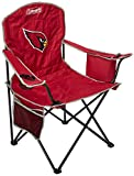Coleman NFL Cooler Quad Folding Tailgating & Camping Chair with Built in Cooler and Carrying Case, Arizona Cardinals