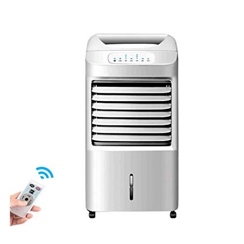 HHYK Tragbare Klimaanlage, Haushaltsbefeuchtung und Kühlung Mobiler Kleinluftkühler, geräuschlos, energiesparend, Fernbedienung weiß (Size : 825 * 388 * 295mm) -