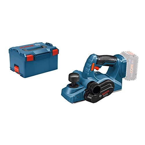 Bosch Professional Rabot Sans-Fil GHO 18 V-LI (18V, régime à vide: 14000tr/min, L-BOXX)