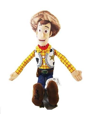 Disney Toy Story Woody Peluche - 48cm haut avec la tête en tissu lavable