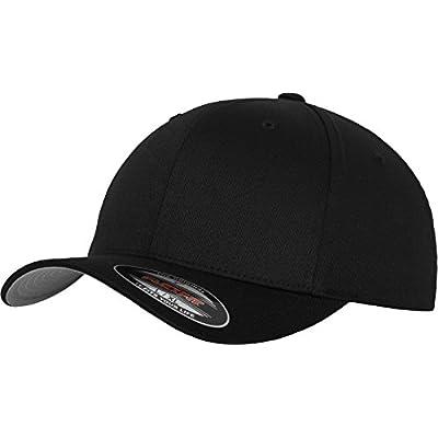 Flexfit Mütze Wooly Combed - Gorra de náutica, color negro, talla DE: L/XL