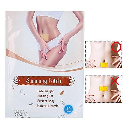 12PCS Abnehmen Aufkleber - Body Fat Burner - Gewichtsverlust Detox, Slim Patch - für Männer und Frauen