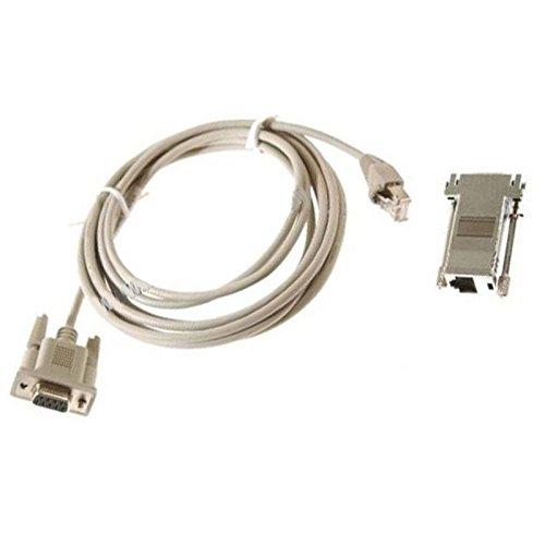 Compaq Kabel DB9auf RJ-4560-0000890-02120cm grau + Adapter RJ-45DB9NEU - Rj 45-db9