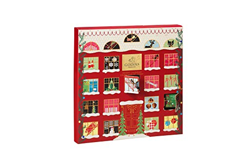 Godiva Advent Calendar.Godiva Christmas 2019 Advent Calendar 175 G