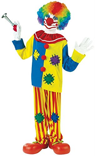 Clown Top Kostüm Big - Big Boys' Big Top Clown Costume Large (12-14) by Fun World