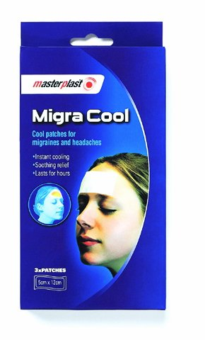 Migra Cool Patches for Migraines and Headaches by Masterplast