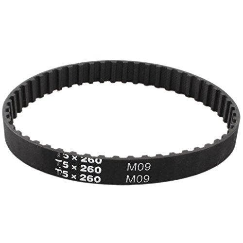 T5x 26052Zähne 5mm Pitch 10mm Breite Groove Zahnriemen 260mm Umfang Test