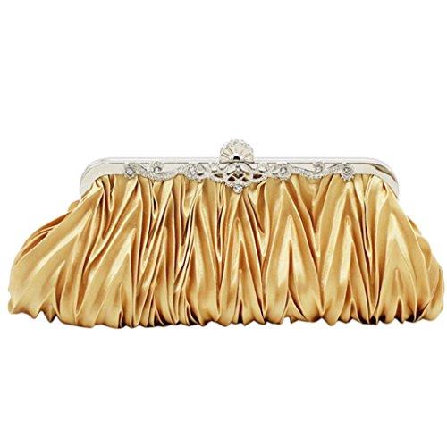 Bodhi2000, Poschette giorno donna, Golden (dorato) - P182015LU8OE5421 Golden