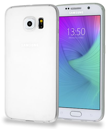 MyGadget Samsung Galaxy S7 Hülle ( 5,1 Zoll ) *ultra dünn* aus Plastik PC in Schutzhülle Cover Case Bumper in Transparent TPU Transparent