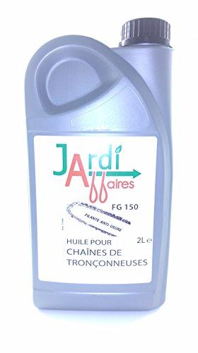 Huile de chaîne pour tronçonneuse FG 150° Jardiaffaires 2 litres