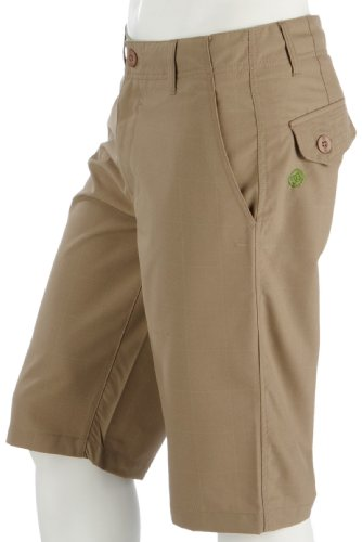 DC Herren Short INITROBE CHINO SHORT, TAN PLAID, 34 (Chino-short Dc)