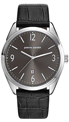 Pierre Cardin Reloj Analogico para Hombre de Cuarzo con Correa en Cuero PC107861F02