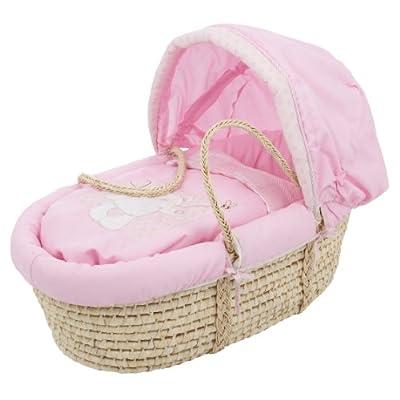 Obaby B is for Bear Moses - Capazo para recién nacido, color rosa by Obaby