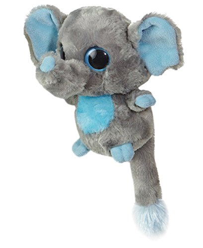 YooHoo and Friends - Elefante de peluche (12,7cm), color gris