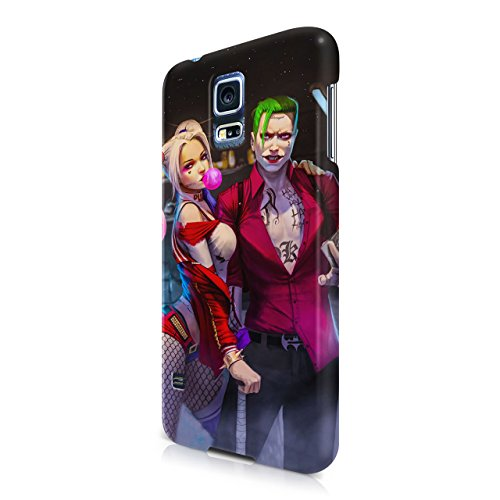 Suicide Squad Harley Quinn And Joker Hard Snap-On Protective Case Cover For Samsung Galaxy S5