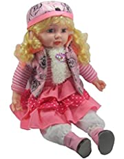 2heet Big Size Singing Songs and Poem Baby Girl Doll (Multicolour, 43 cm)