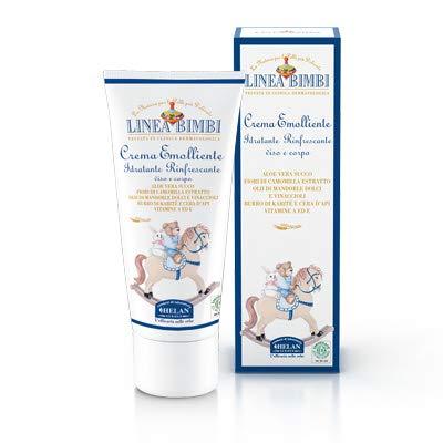 Helan - linea bimbi bio crema emolliente 100 ml [1 confezione] efficace | naturale | benessere quotidiano - [kit con integratore tonico-adattogeno in omaggio]