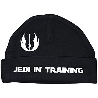 Jedi In Training Baby Beanie Hat/Cap Star Wars schwarz 0bis 12Monate Gr. XXS, schwarz