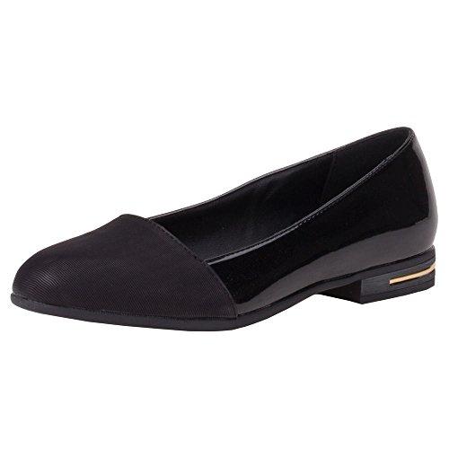 Damen Schuhe, H263, PUMPS Schwarz