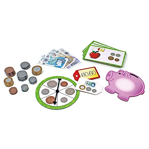 Learning Resources- Money Activity Set de Actividades con Dinero, Color (LSP3219UK)