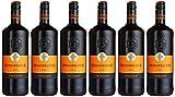 HXM Dornfelder Trocken Qualitätswein Rheinhessen 2015 rotwein (6 x 1 l)
