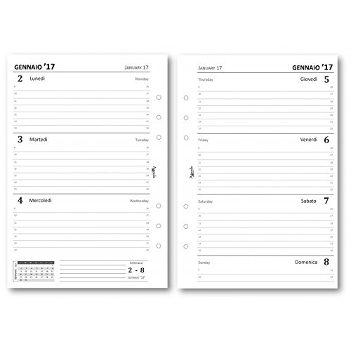 2017-weekly-diary-organizer-refills-white-14-x-21-english-language-not-guaranteed