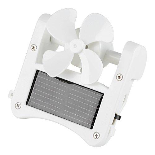 Fdit Ventilador de Tapa Solar Portátil Tapa de Sombrero de Corriente de Bolsillo Deporte USB de Refrigeración Socailme-EU