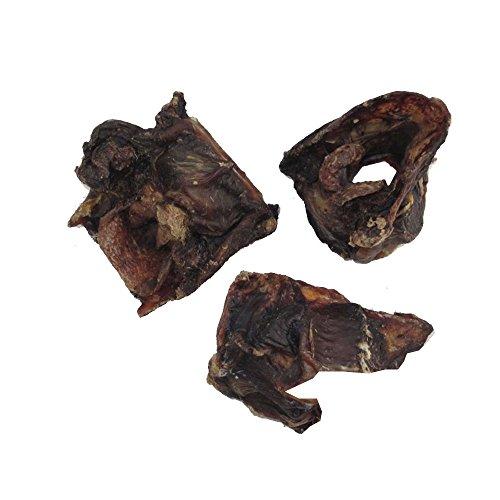 Pferdeknochen mit Fleischreste getrocknet, natürlich, 500g, 5 Stück