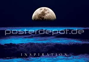 Poster Ocean Moonrise - Inspiration