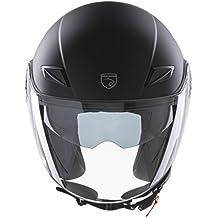 Panthera casco de moto half jet Paris negro mate talla M 65a32216f2713