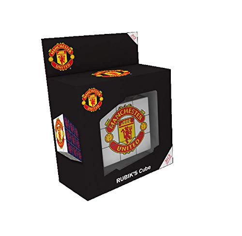 Paul Lamond 7235 Manchester United Rubik s Cube Puzzle  Red