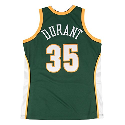 Mitchell & Ness Kevin Durant Seattle SuperSonics 2007-08 Authentic NBA Trikot, S Kevin Durant Authentic Jersey