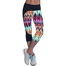 Yoga Fitness Deporte Pantalones Impreso Cosechado Leggings