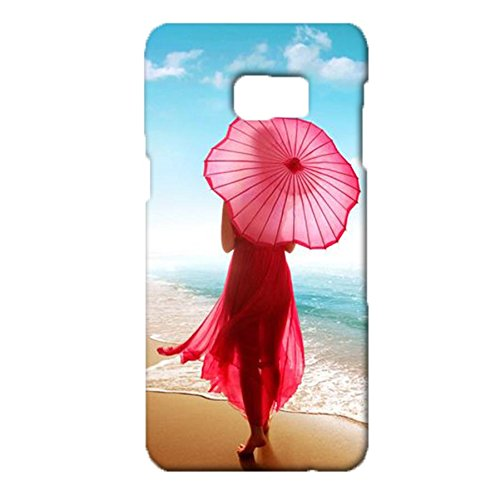 Samsung Galaxy S6 Edge Plus Exquisite Delicate Style Scenery Figure Exquisite Umbrella Cover Case for Samsung Galaxy S6 Edge Plus Most Attractive Cute Sports Umbrella Series Phone Case