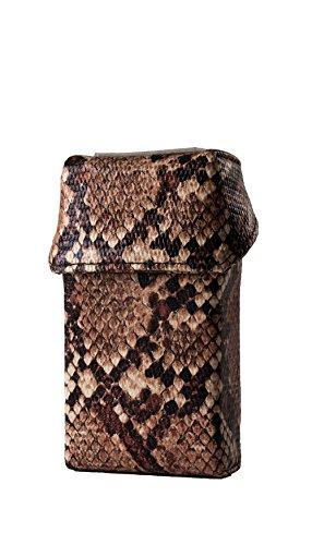 smokeshirt® Club Zigarettenetui div. Designs Long 100 mm smoke shirt für Zigarettenschachtel in Größe 100 mm, modisch, Elegante, patentiert -