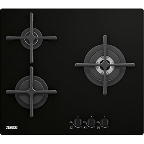zanussi-zgo66334ba-integrado-gas-negro-hobs-placa-integrado-gas-hob-vidrio-y-ceramica-negro-tocar
