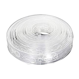 Rekkles 5m Transparent Balloon Chain Arch Connect Strip Holder Plastic Tape for Birthday Party Wedding Ballon Connector