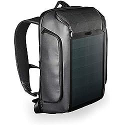KINGSONS Beam Backpack - Le Sac à Dos à Energie Solaire Le Plus Avancé - Sacoche Etanche pour Ordinateur Portable