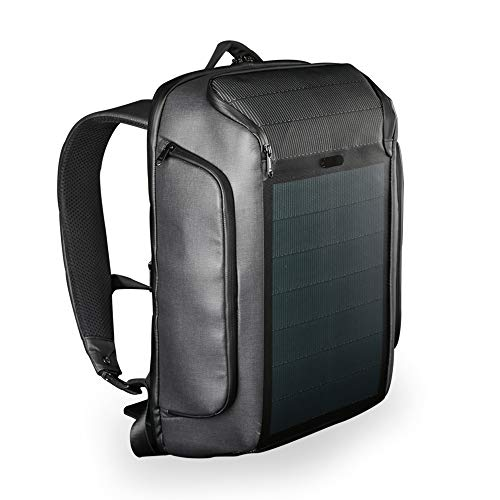 Kingsons Beam Backpack - Der Modernste Solar Power Rucksack - Wasserdichte, Diebstahlsichere Laptoptasche Power Beam