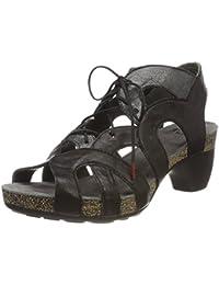 Womens Traudi_282576 Closed Toe Sandals, Blau (Lagune/Kombi 79), 5 UK Think