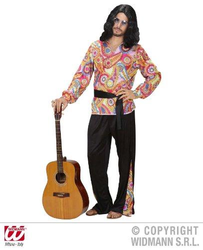 Hippie Hippie Herren Dude Für Jahre Kostüm 70er (KOSTÜM - HIPPIE DUDE -, Größe 48)